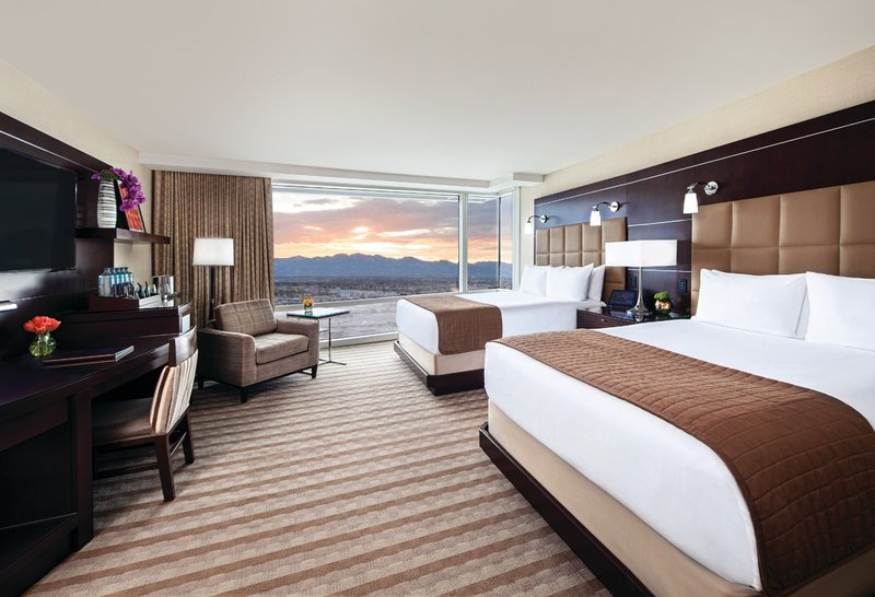 Aria Resort and Casino - Deluxe Two Queen <br/>Image from Leonardo