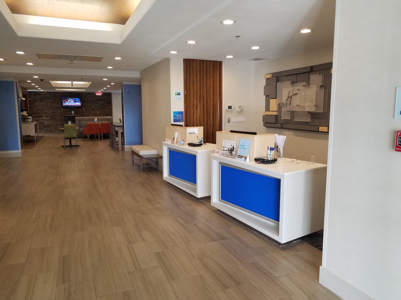 Holiday Inn Express & Suites Dinuba West-Welcome to Holiday Inn Express & Suites Dinuba West Front Desk <br/>Image from Leonardo