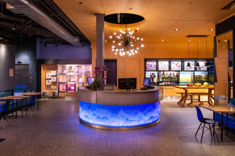 Aloft Lexington-Aloha Desk<br/>Image from Leonardo