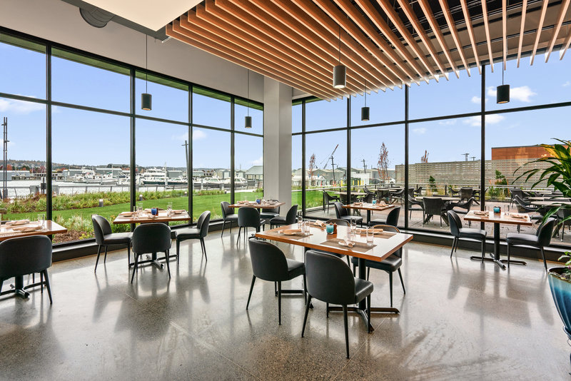 Hotel Indigo Seattle Everett Waterfront-Main Dining Room<br/>Image from Leonardo