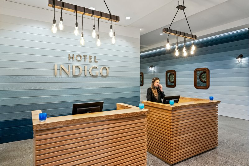 Hotel Indigo Seattle Everett Waterfront-Front Desk<br/>Image from Leonardo
