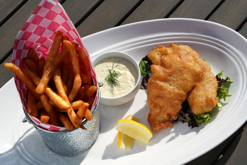 Hotel Indigo Seattle Everett Waterfront-Fish and Chips<br/>Image from Leonardo