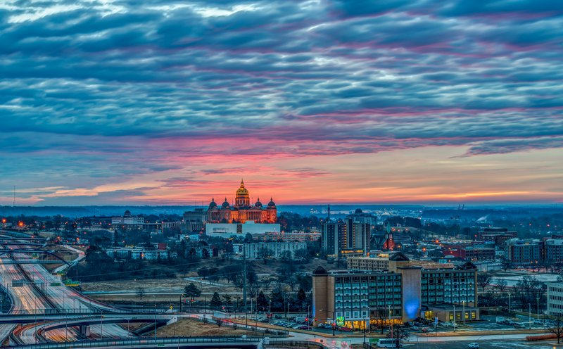 Holiday Inn Des Moines Downtown - Mercy Area-Best View in Town<br/>Image from Leonardo