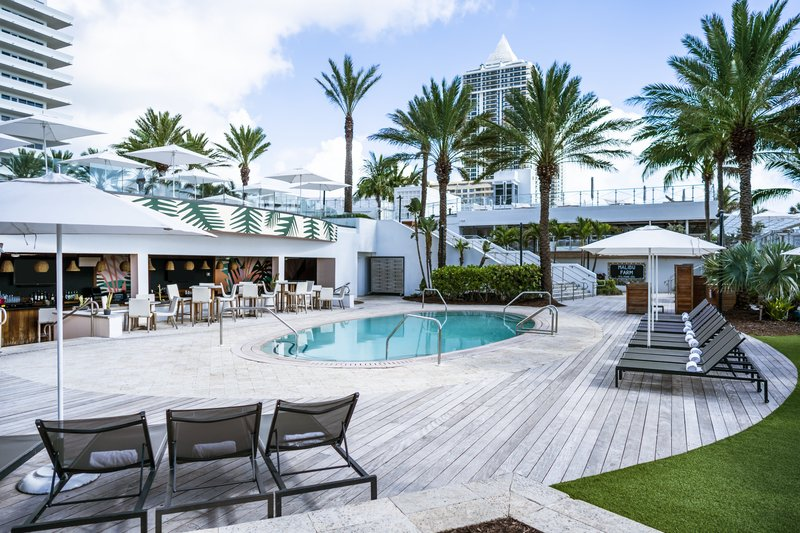 Nobu Hotel Miami Beach - Playabar And Pool At Playabar <br/>Image from Leonardo