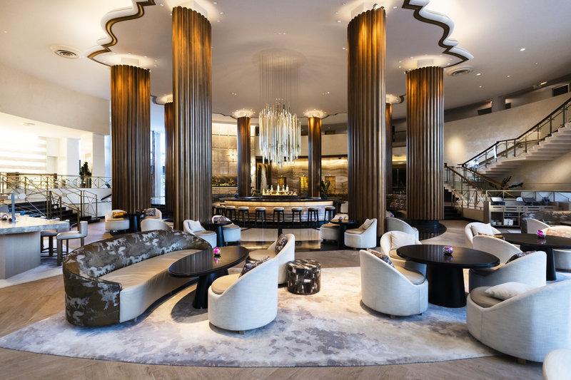 Nobu Hotel Miami Beach - Lobby Bar <br/>Image from Leonardo