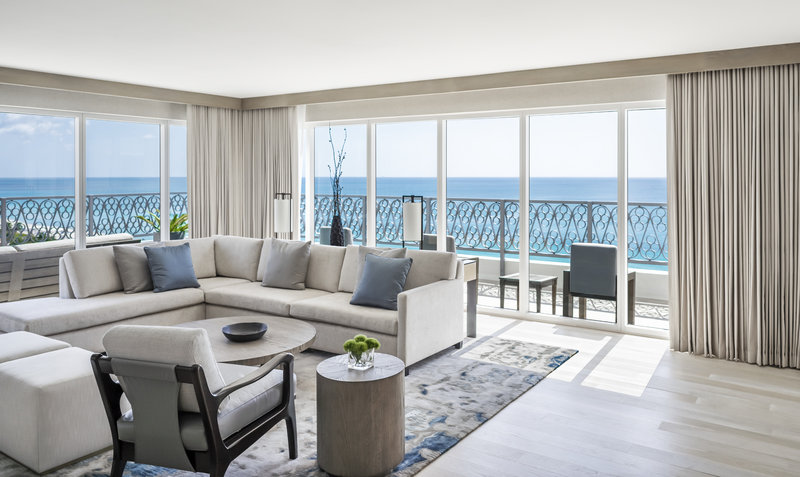 Nobu Hotel Miami Beach - Nobu Villa Living Room <br/>Image from Leonardo