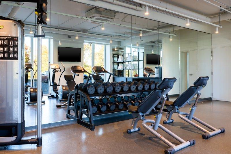 Holiday Inn Express Gent-Fitness Center<br/>Image from Leonardo