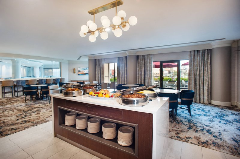 Delta Hotels by Marriott Victoria Ocean Point Resort-Club Lounge with Private Patio<br/>Image from Leonardo