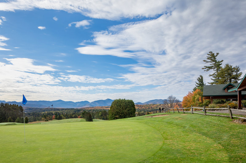 Crowne Plaza Lake Placid-Our 18th hole is just steps from our Lake Placid Club<br/>Image from Leonardo