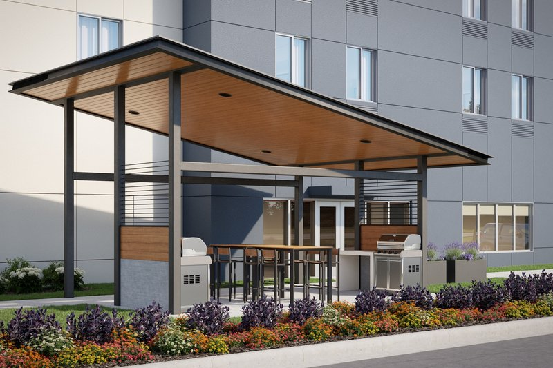 Candlewood Suites Kingston West-Guest Patio & Outdoor Grill<br/>Image from Leonardo