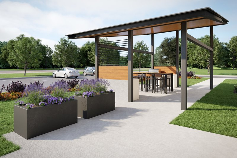 Candlewood Suites Kingston West-Guest Patio<br/>Image from Leonardo
