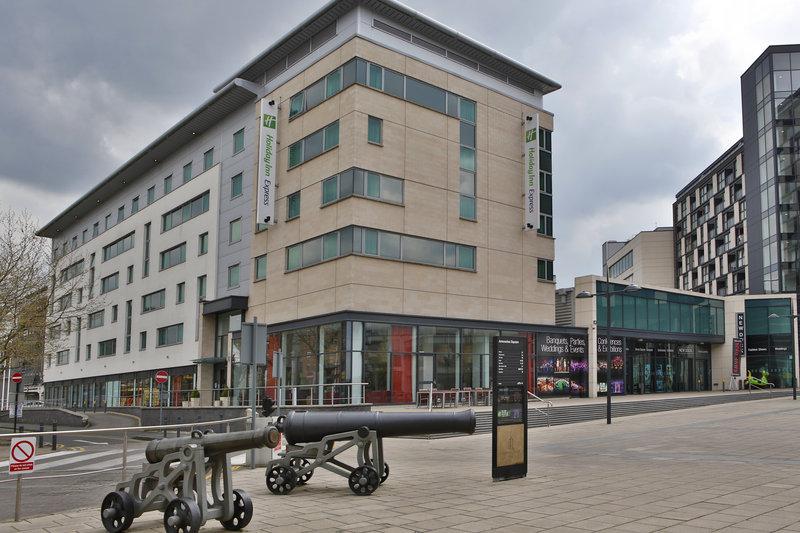 Holiday Inn Express Leeds City Centre - Armouries-Hotel Exterior<br/>Image from Leonardo