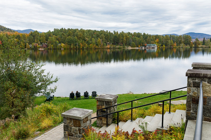 Crowne Plaza Lake Placid-Enjoy the walk to Mid's Park on Main Street<br/>Image from Leonardo