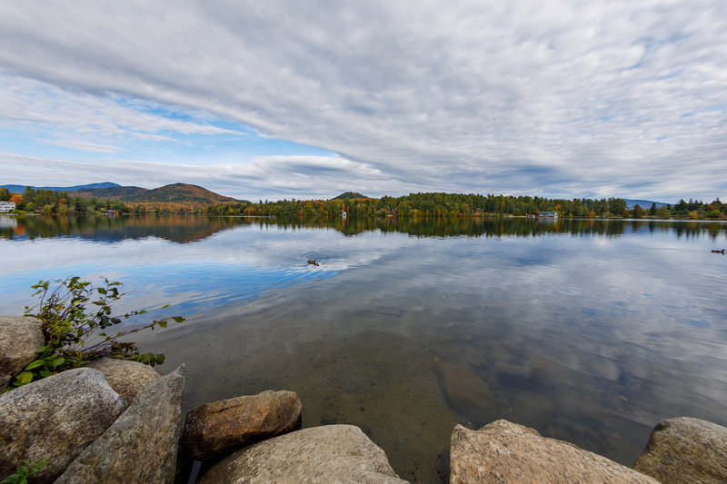 Crowne Plaza Lake Placid-Mirror Lake is just a short walk from the hotel<br/>Image from Leonardo