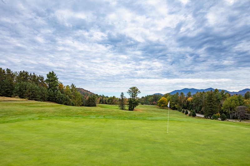 Crowne Plaza Lake Placid-Our links-style golf course<br/>Image from Leonardo