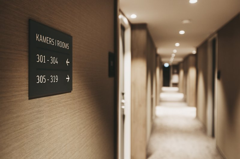 Holiday Inn Eindhoven Airport-Hallway leading to guest rooms<br/>Image from Leonardo