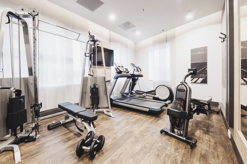 Holiday Inn Eindhoven Airport-View into the gym<br/>Image from Leonardo