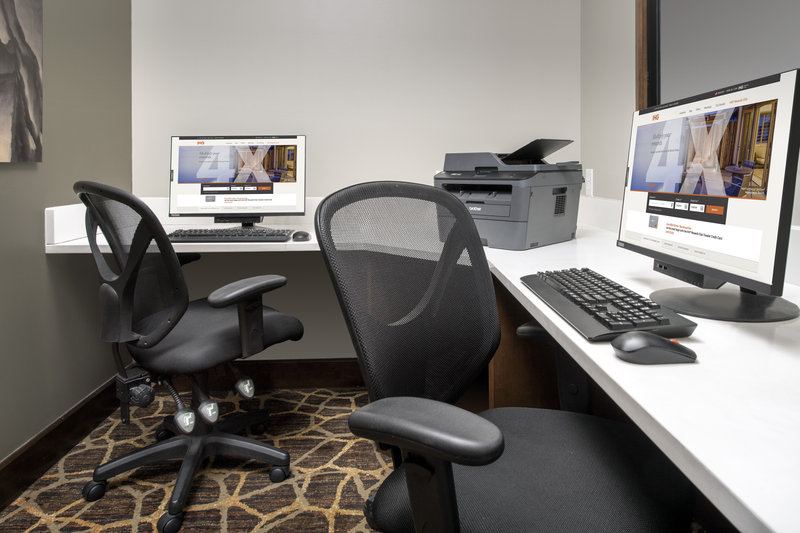 Staybridge Suites Columbia-Our state-of-the-art business center is perfect for our guests<br/>Image from Leonardo