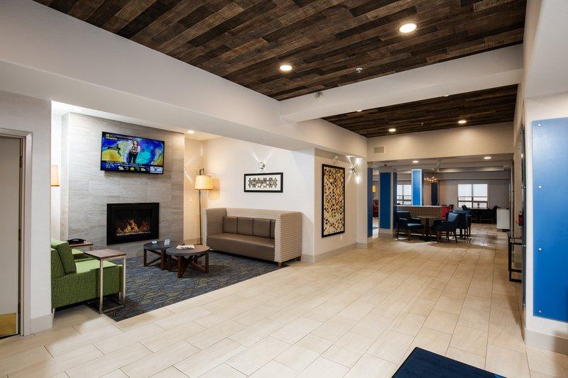 Holiday Inn Express & Suites Grande Prairie-Hotel Lobby<br/>Image from Leonardo