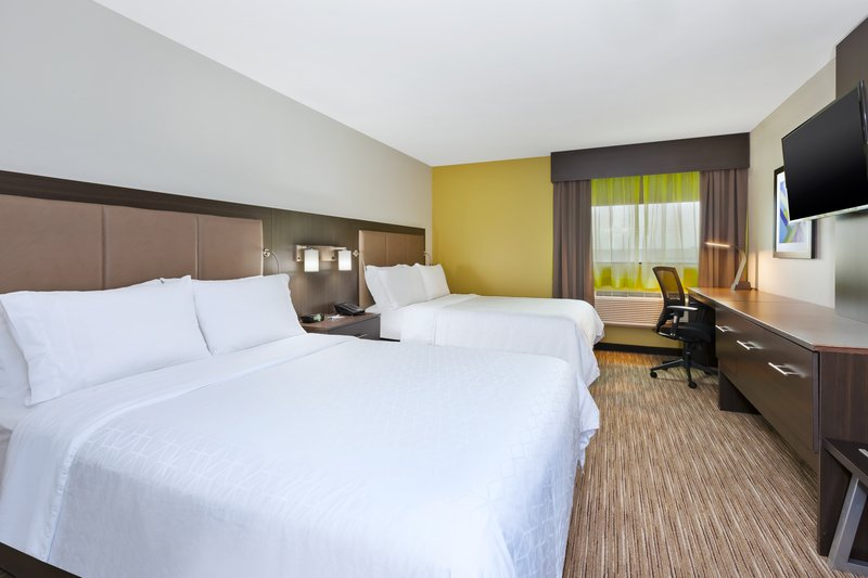 Holiday Inn Express Winnipeg Airport - Polo Park-Two Queen Beds perfect for a family of four!<br/>Image from Leonardo