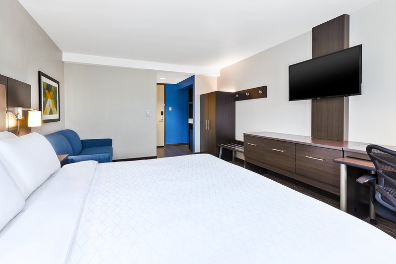 Holiday Inn Express Winnipeg Airport - Polo Park-Our King with sofa bed fits four!<br/>Image from Leonardo