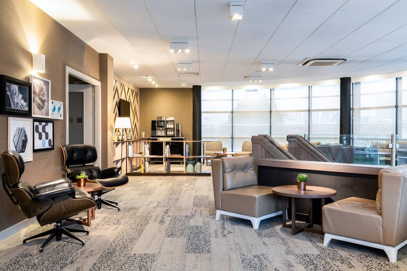 AC Hotel by Marriott Manchester Salford Quays-AC Library<br/>Image from Leonardo