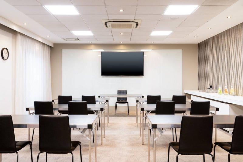 AC Hotel by Marriott Manchester Salford Quays-Quays Side 1 - Classroom Setup<br/>Image from Leonardo