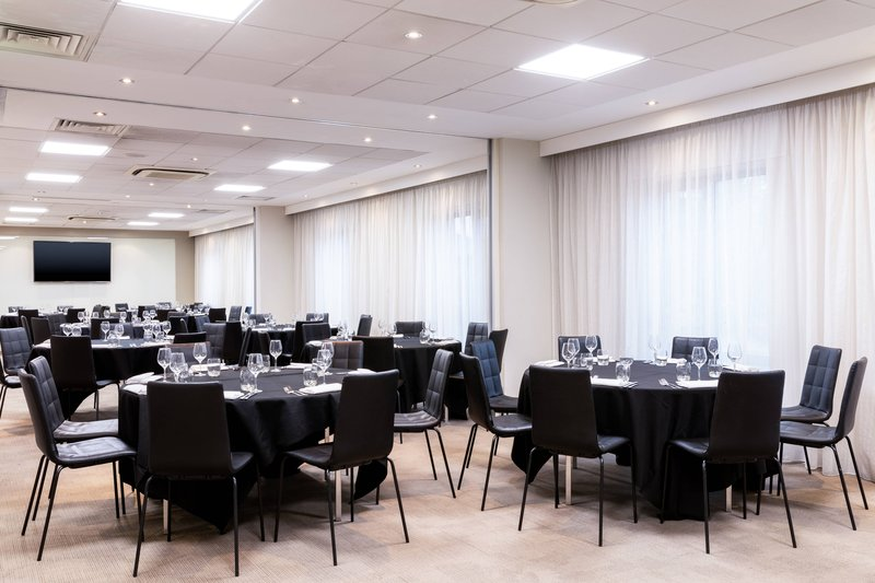 AC Hotel by Marriott Manchester Salford Quays-Quays Suite - Banquet Setup<br/>Image from Leonardo