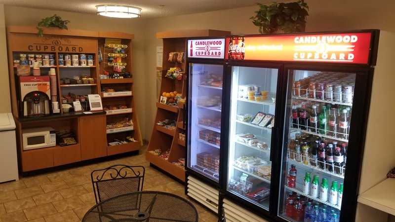 Candlewood Suites Dallas - By The Galleria-Hungry? Come grab something to eat in our Candlewood Cupboard!<br/>Image from Leonardo