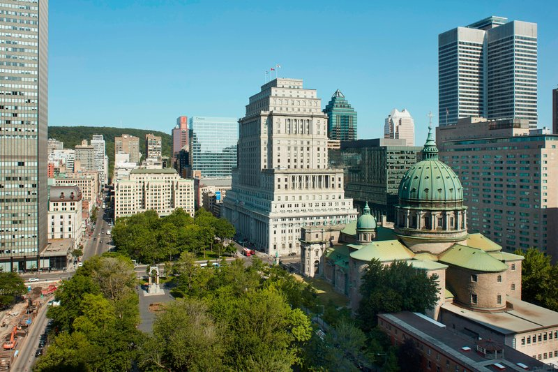 Montreal Marriott Chateau Champlain-Mid-Floor North-Facing - City View<br/>Image from Leonardo