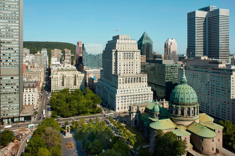 Montreal Marriott Chateau Champlain-High Floor North-Facing - City View<br/>Image from Leonardo