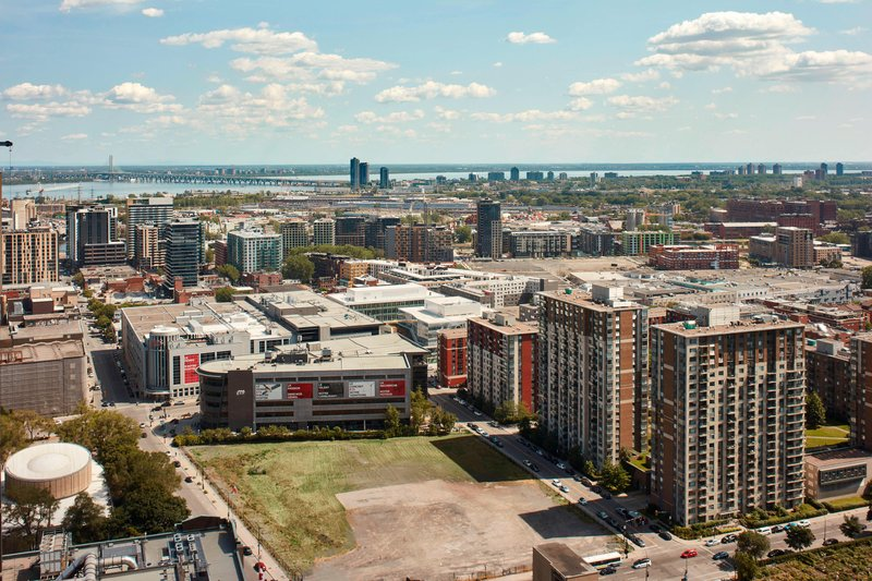 Montreal Marriott Chateau Champlain-High Floor South-Facing - City View<br/>Image from Leonardo