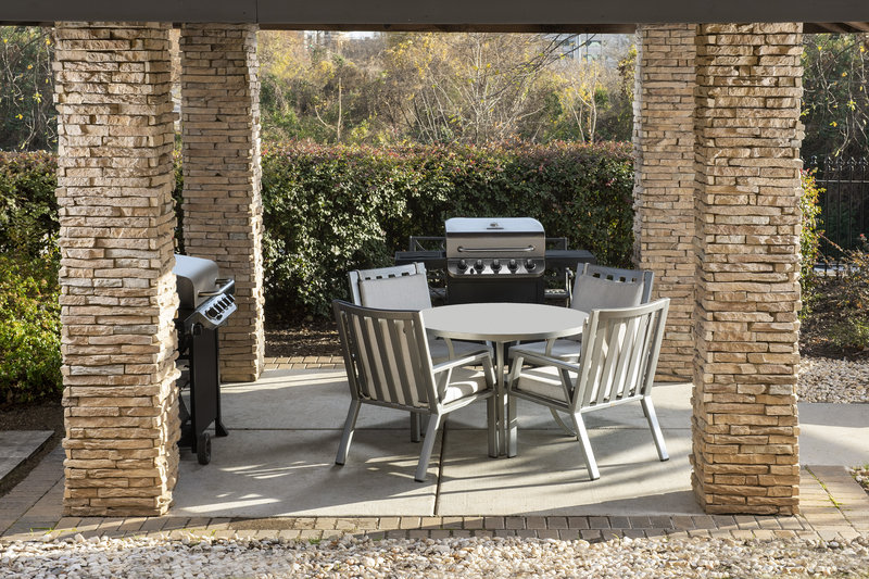 Staybridge Suites Columbia-Grill a complete meal at Staybridge Suites' Grilling Pavilion <br/>Image from Leonardo