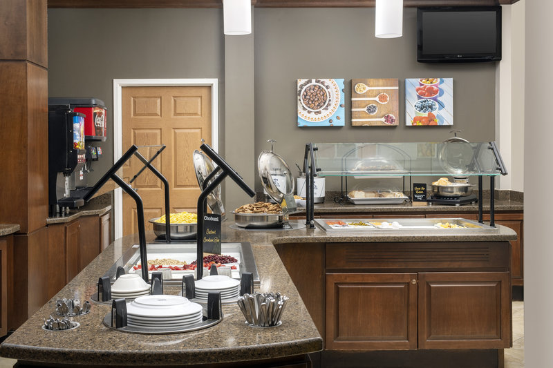 Staybridge Suites Columbia-Complimentary hot buffet breakfast buffet served daily <br/>Image from Leonardo