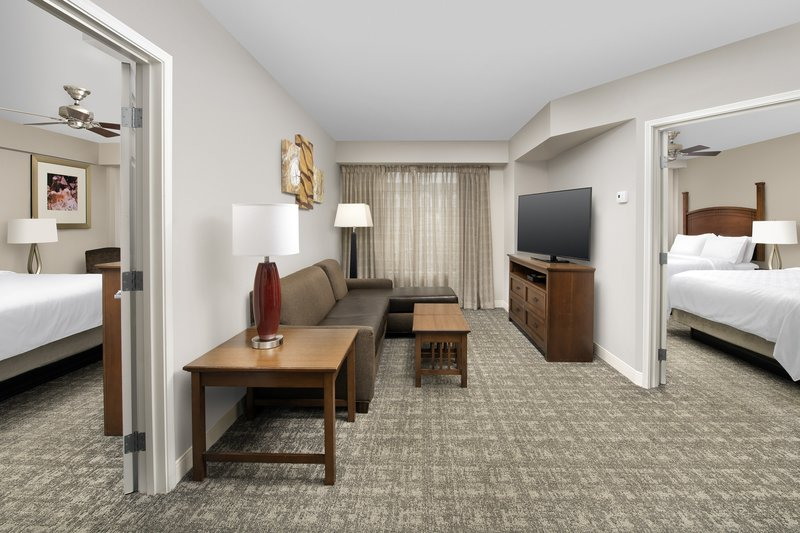 Staybridge Suites Columbia-Our largest room, the 2 bedroom suite sleeps up to 8 people<br/>Image from Leonardo