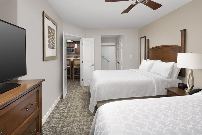 Staybridge Suites Columbia-Staybridge offers 1 bedroom suites with 2 queen beds. <br/>Image from Leonardo