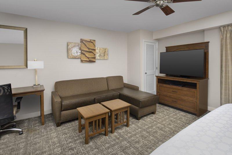 Staybridge Suites Columbia-Spacious living area in the ADA king studio suite<br/>Image from Leonardo