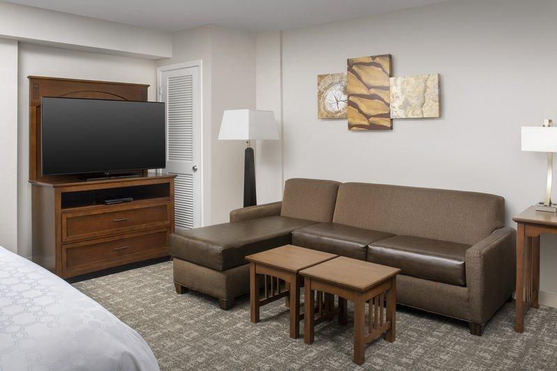 Staybridge Suites Columbia-Staybridge Suites' most popular suite, the king studio<br/>Image from Leonardo