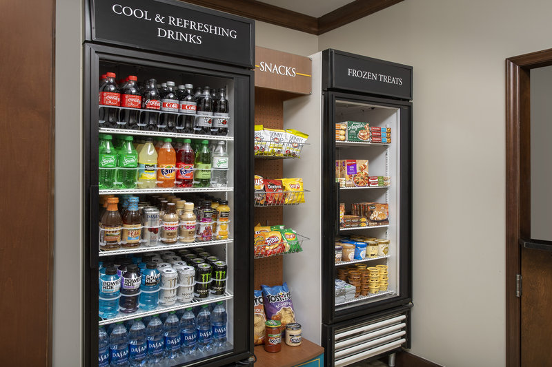 Staybridge Suites Columbia-Grab a snack or cold drink in Staybridge Suites' pantry<br/>Image from Leonardo