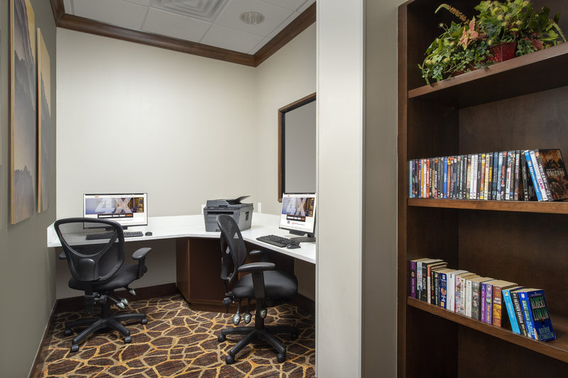 Staybridge Suites Columbia-Make yourself at home with our business center and DVD library<br/>Image from Leonardo