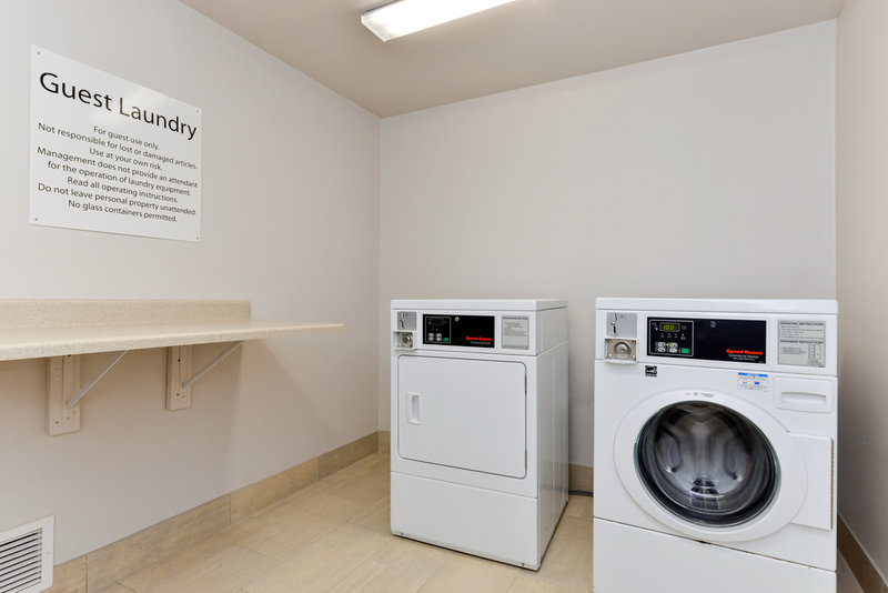 Holiday Inn Express & Suites Pueblo North-Laundry Facility<br/>Image from Leonardo