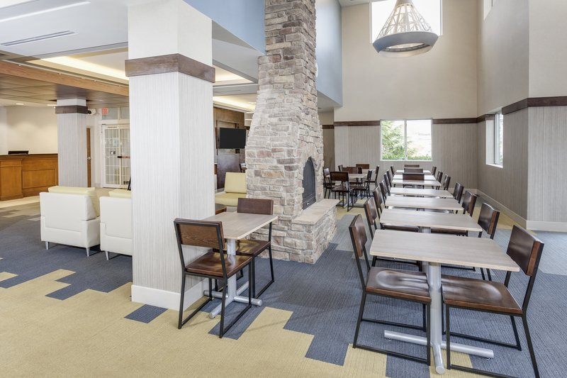 Holiday Inn Express & Suites Long Island-East End-Lobby space with free WiFi with 24 hour coffee<br/>Image from Leonardo