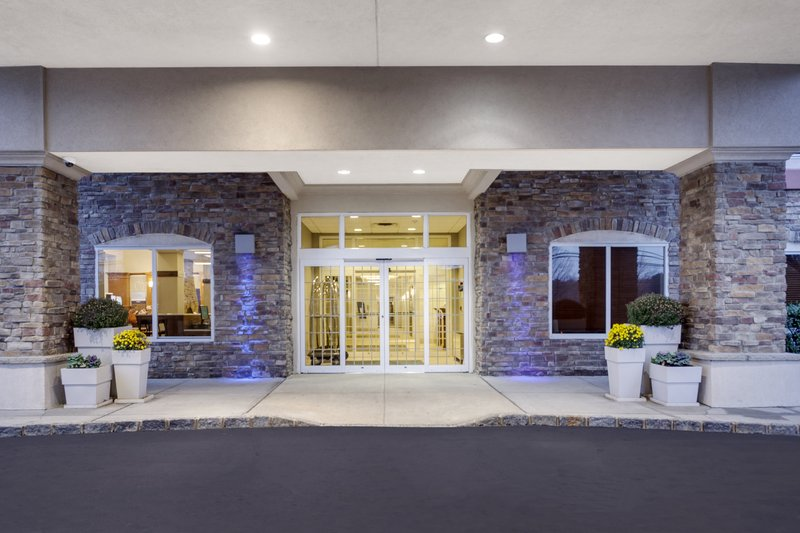 Holiday Inn Express & Suites Long Island-East End-Entrance to our newly renovated property<br/>Image from Leonardo