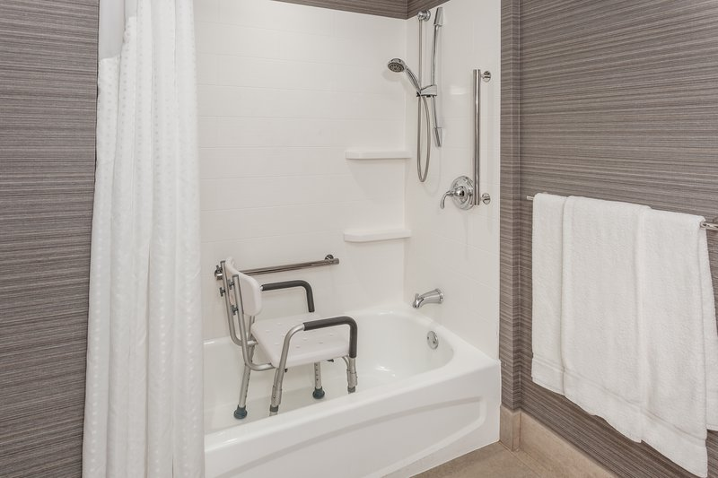 Holiday Inn Express & Suites Long Island-East End-ADA accessible tub and shower<br/>Image from Leonardo