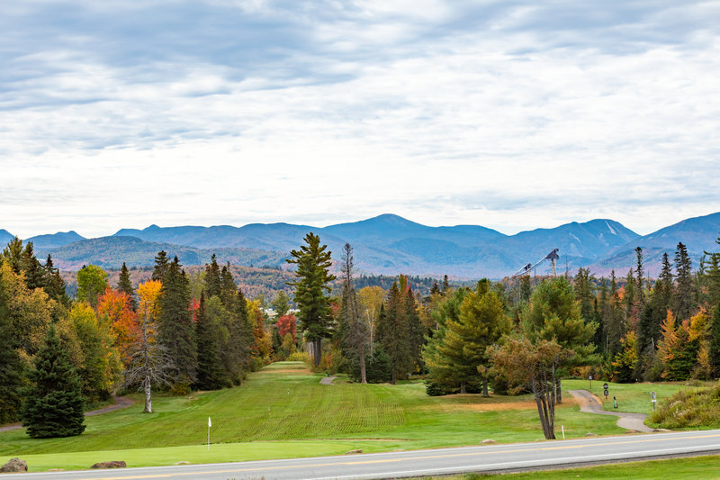 Crowne Plaza Lake Placid-Views of the ski jumps from our courses<br/>Image from Leonardo