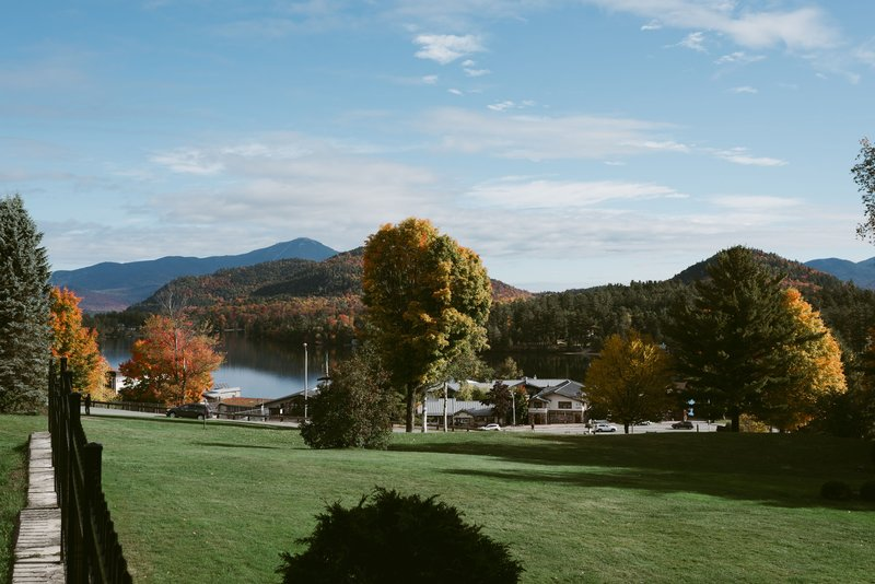 Crowne Plaza Lake Placid-Fall views from the hotel<br/>Image from Leonardo