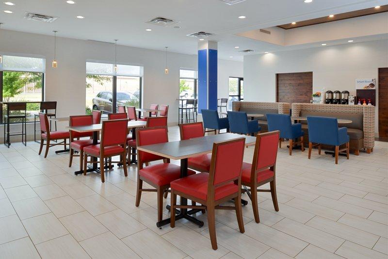 Holiday Inn Express & Suites Pueblo North-Breakfast Area<br/>Image from Leonardo