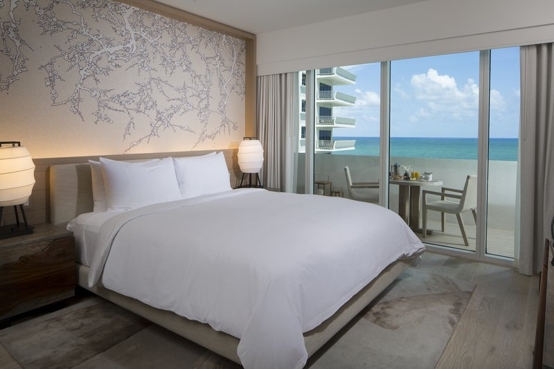 Nobu Hotel Miami Beach-Deluxe King Bed Ocean View<br/>Image from Leonardo