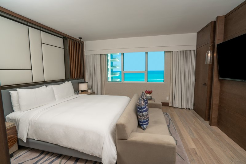 Nobu Hotel Miami Beach-Umi Suite King Bed<br/>Image from Leonardo