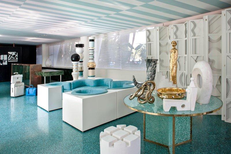 Avalon Hotel Beverly Hills-Lobby Lounge Area<br/>Image from Leonardo
